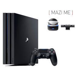 Sony Playstation 4 Pro 1 TB + Camera v2 + VR Headset
