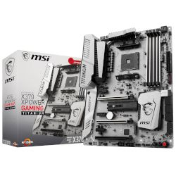 MSI Motherboard X370 XPOWER GAMING TITANIUM (X370/AM4/DDR4)