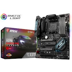 MSI Motherboard X370 Gaming Pro Carbon (X370/AM4/DDR4)