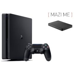 Sony Playstation 4 Slim 500 GB + Expansion SRS 4TB