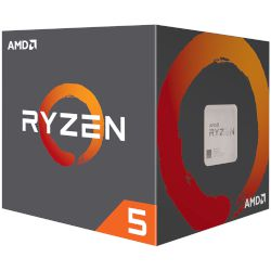 AMD CPU Ryzen 5 1600 with Wraith Spire Cooler (AM4/3.60 GHz/19 MB)