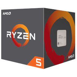 AMD CPU Ryzen 5 1400 Wraith Stealth Cooler (AM4/3.40 GHz/10 MB)