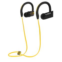 Handsfree Bluetooth Turbo-X Runner Μαύρο - Κίτρινο