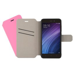 Θήκη Sentio Book Cover για Redmi 4A Light Pink