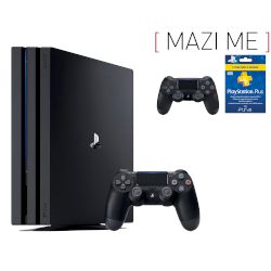 Sony Playstation 4 Pro 1 TB + 2nd Dualshock v2 + Plus 90