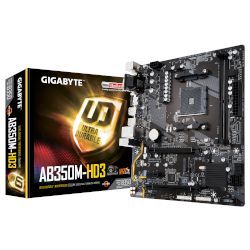 Gigabyte Motherboard AB350M-HD3  (B350/AM4/DDR4)