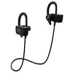 Handsfree Bluetooth Celly Sport Stereo Μαύρο