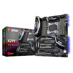 MSI Motherboard X299 Gaming Pro Carbon (X299/2066/DDR4)