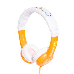 Headphones Buddy Travel Phone Orange
