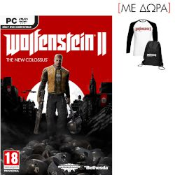 Bethesda Wolfenstein II : The New Colossus Pre Order D1 Edtion PC