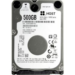 Hitachi Travelstar Laptop HDD 500 GB