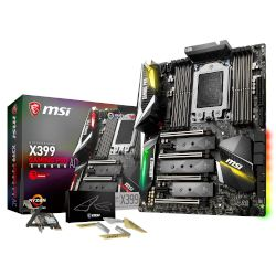 MSI Motherboard X399 Gaming Pro Carbon AC (X399/sTR4/DDR4)