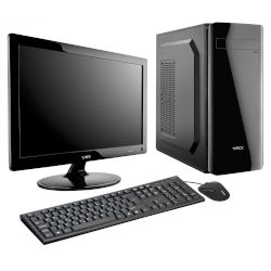 Turbo-X Sphere SK10 Student Bundle Desktop (Intel Celeron J3455/4 GB/500 GB HDD//Intel HD Graphics)