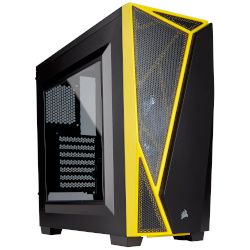 Corsair Spec-04 Black & Yellow Midi Tower
