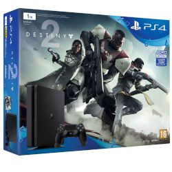 Sony Playstation 4 Slim 1 TB E Chassis + Destiny 2 + Thats You voucher