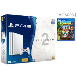 Sony Playstation 4 Pro 1 TB White + Destiny 2 Deluxe Edition + Thats You