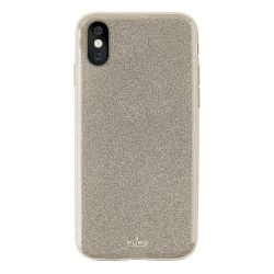 Θήκη Puro Back Cover για iPhone X Glitter Gold