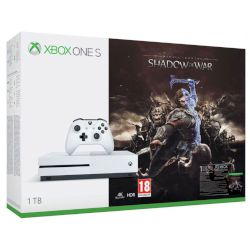 Microsoft Xbox ONE S 1 TB + Middle Earth Shadow Of War