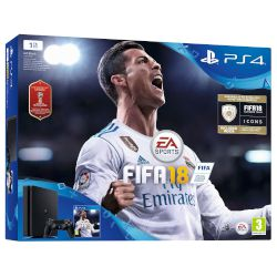 Sony Playstation 4 Slim 1 TB E Chassis  + FIFA 18