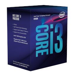 Intel CPU Core i3 8100 (1151/3.60 GHz/6 MB)