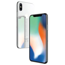Apple iPhone X 256GB Silver 4G+ Smartphone