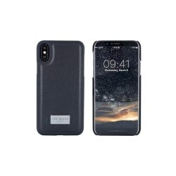 Θήκη TED BAKER Back Cover για iPhone X Μαύρη, Franky
