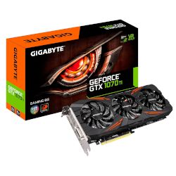Gigabyte VGA GeForce GTX 1070 Ti Gaming 8GB