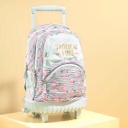 6137dc7c8eb Goomby Trolley Σχολικό Limited Tropical Flamingo