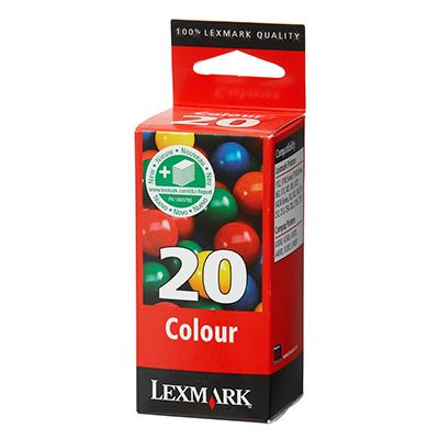 Μελάνι Lexmark 20XL Colour