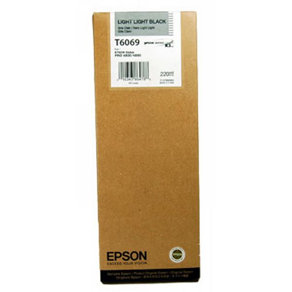 Μελάνι Epson T6069 Light light Black