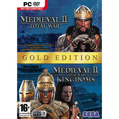 Sega Medieval 2 Total War Gold PC