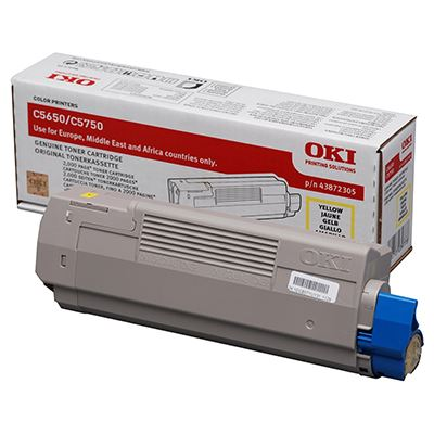 Toner OKI C5650/5750 Yellow
