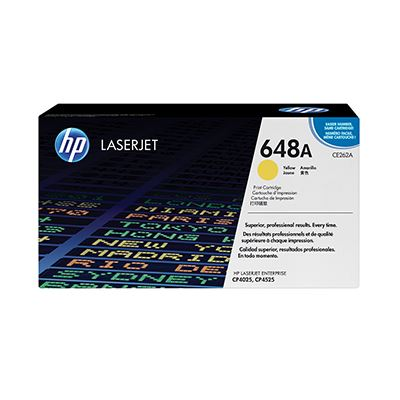 Toner HP 648A Yellow