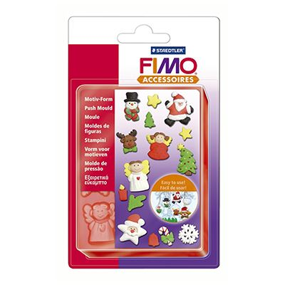 "Καλούπια Push Mould ""Christmas"" Fimo"