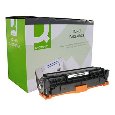 Toner Q-Connect Συμβατό CC532A Yellow