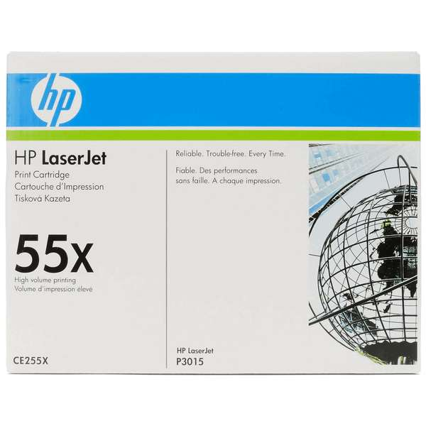 Toner HP 55X Black