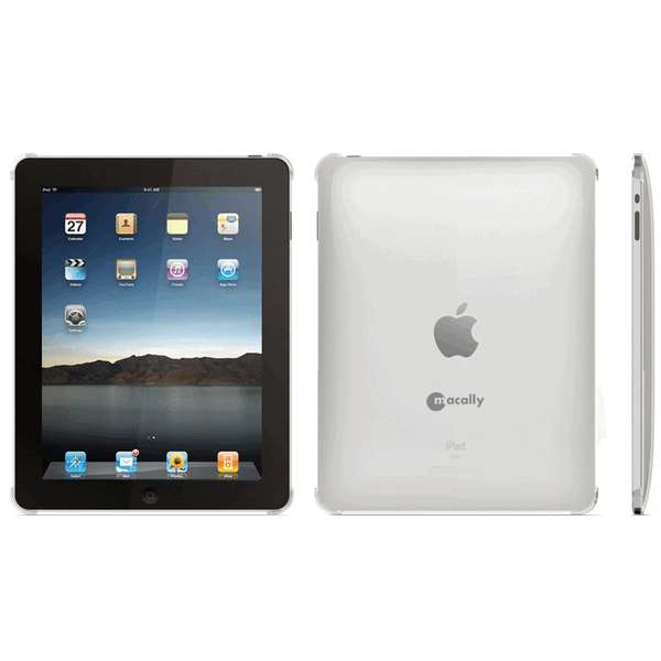 "Θήκη Macally Back Cover για tablet iPad 9.7"" Λευκή"