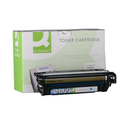 Toner Q-Connect Συμβατό CE251A Cyan