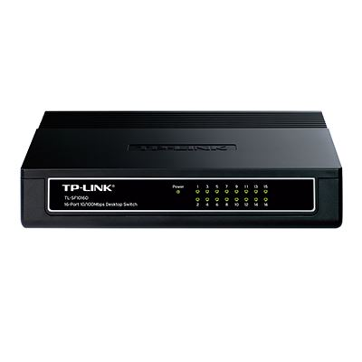 16-Port 10/100Mbps TL-SF1016D