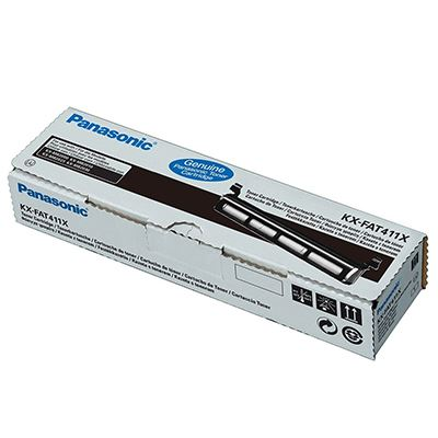 Toner Panasonic KX-FAT411X Black
