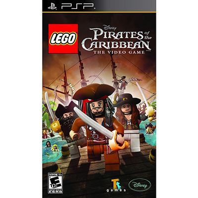 Disney Lego Pirates of the Carribean PSP