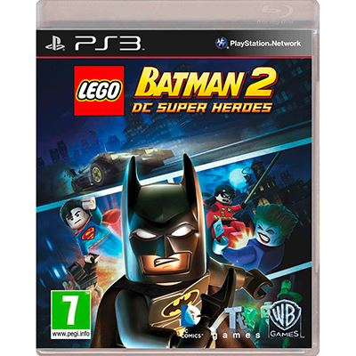 Warner Lego Batman 2 DC Superheroes  PS3