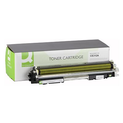 Toner Q-Connect Συμβατό CE312A Yellow