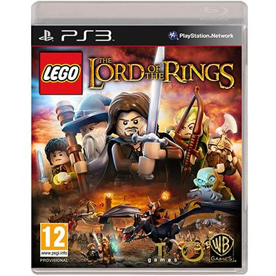 Warner LEGO Lord of the Rings PS3