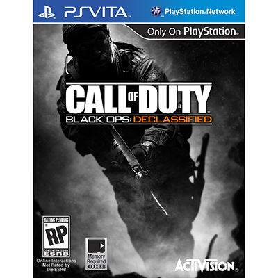 Activision CAD Black Ops: Declassified PS VITA