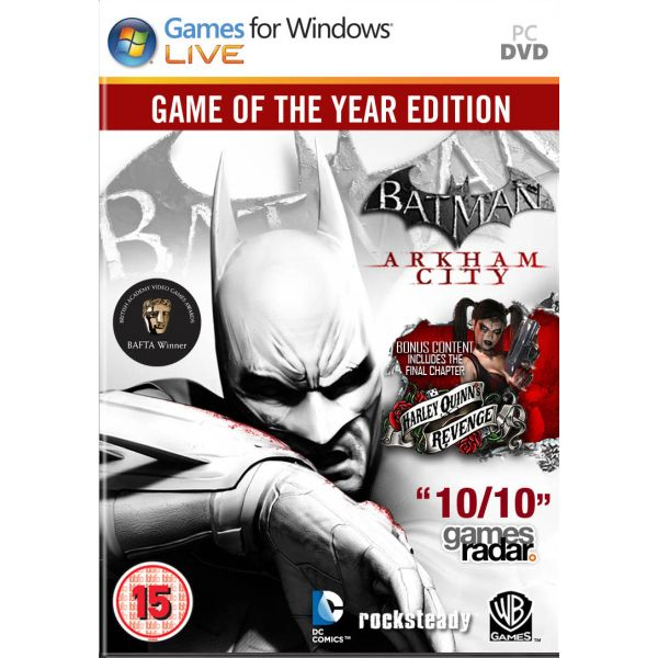 Warner Batman Arkham City GOTY PC