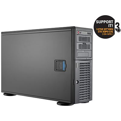 Turbo-X Flexwork RTD2603-8-2 Server (Xeon E5-2603v2/8 GB/2x1TB HDD/G200eW)