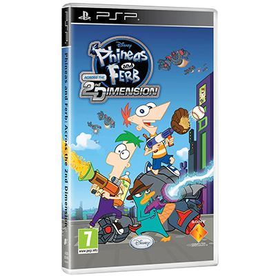 Sony Phineas & Ferb PSP