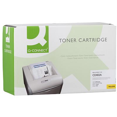 Toner Q-Connect Συμβατό CE402A Yellow