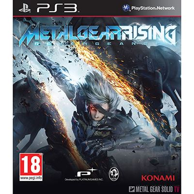 Konami Metal Gear Solid Rising Revengeance PS3